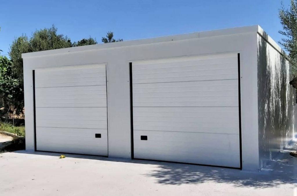 Garajes dobles prefabricados Tortosa