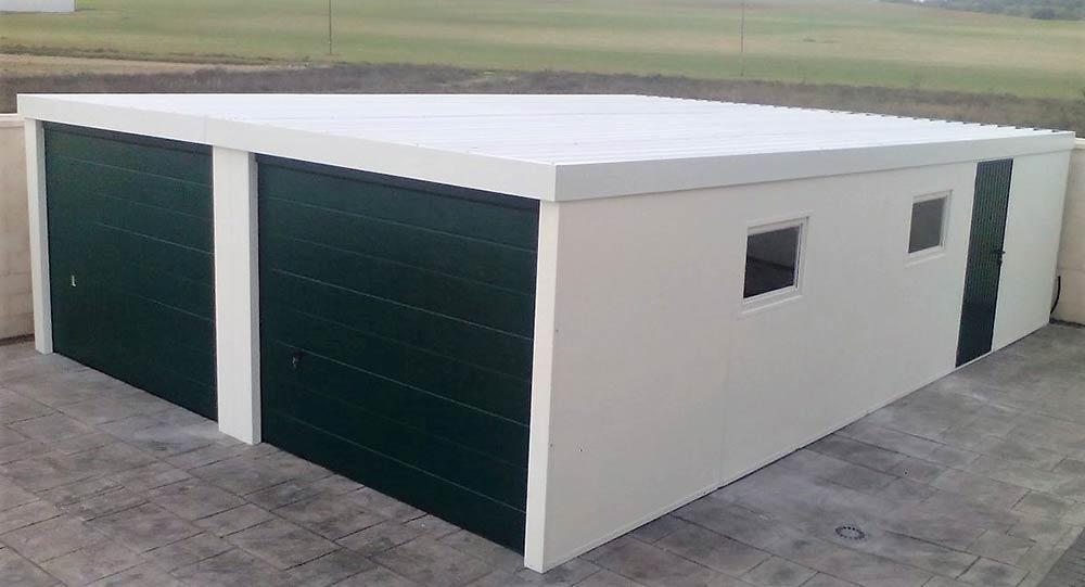 Garaje prefabricado doble Valladolid