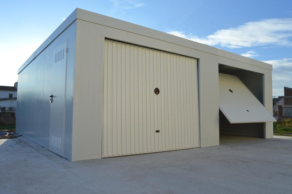 Garajes prefabricados dobles Vinebre
